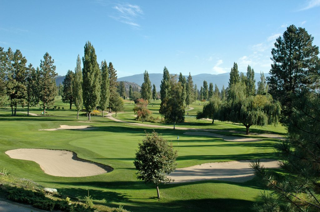 9th Green at Summerland Golf and Country Club