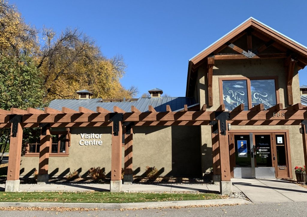 Penticton Visitor Centre building