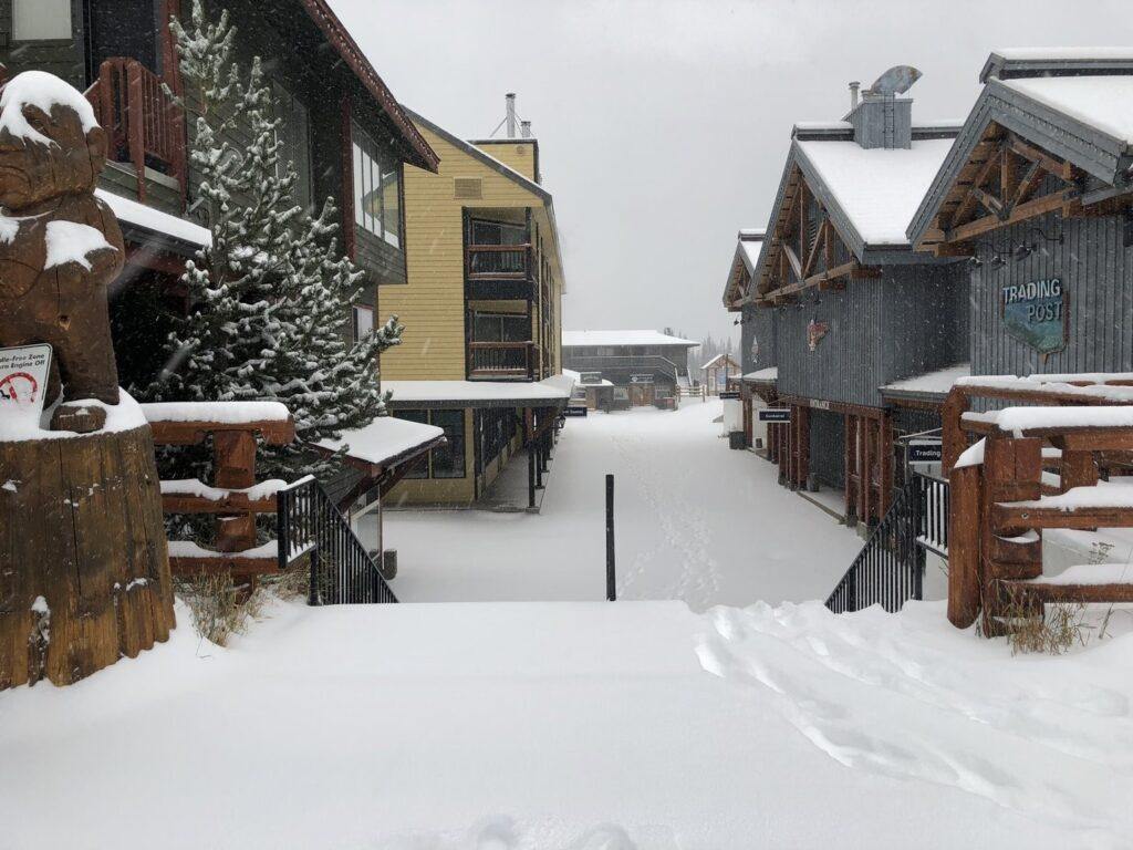 The village at Apex Mountain Resort